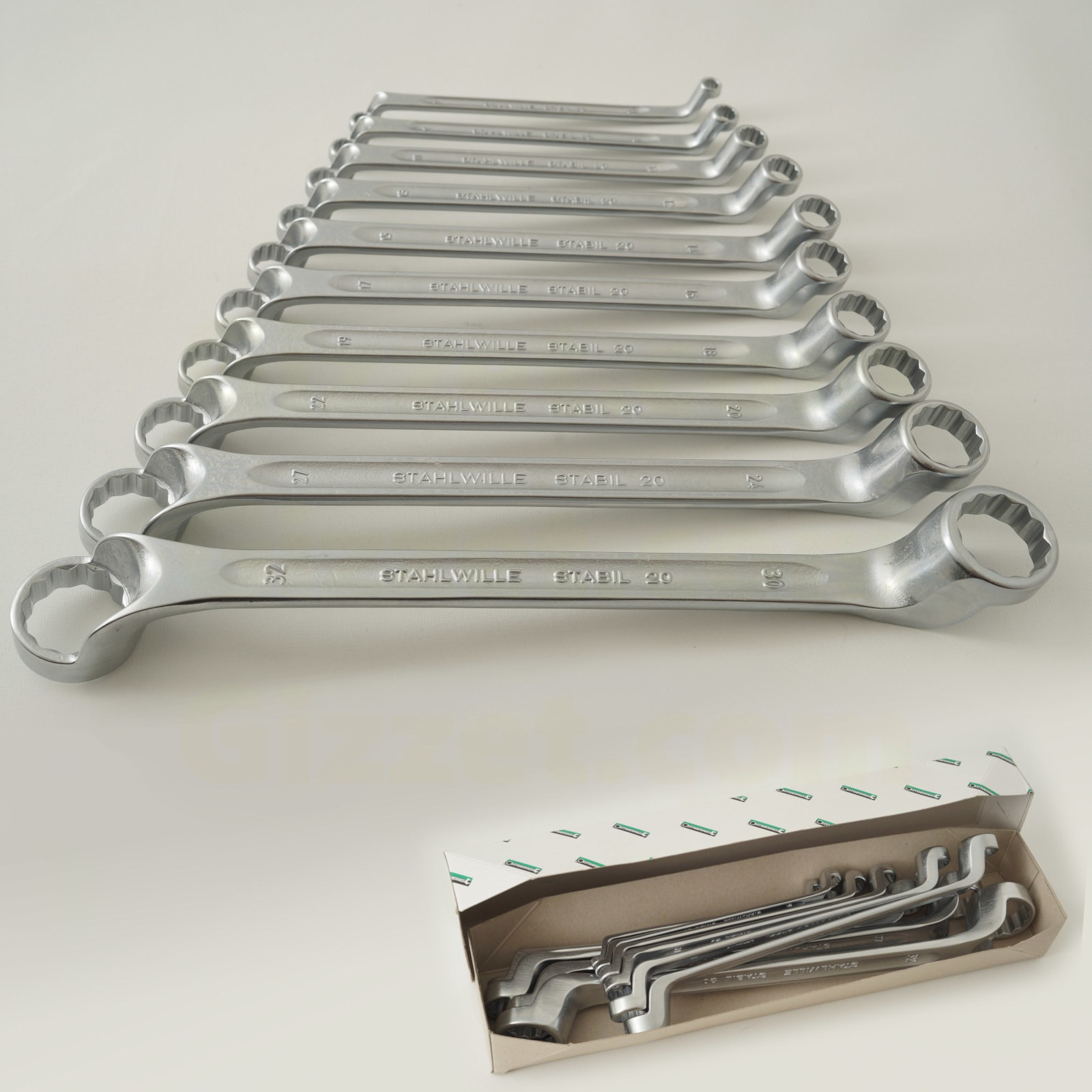 Stahlwille 13/17 Combination wrench set OPEN-BOX