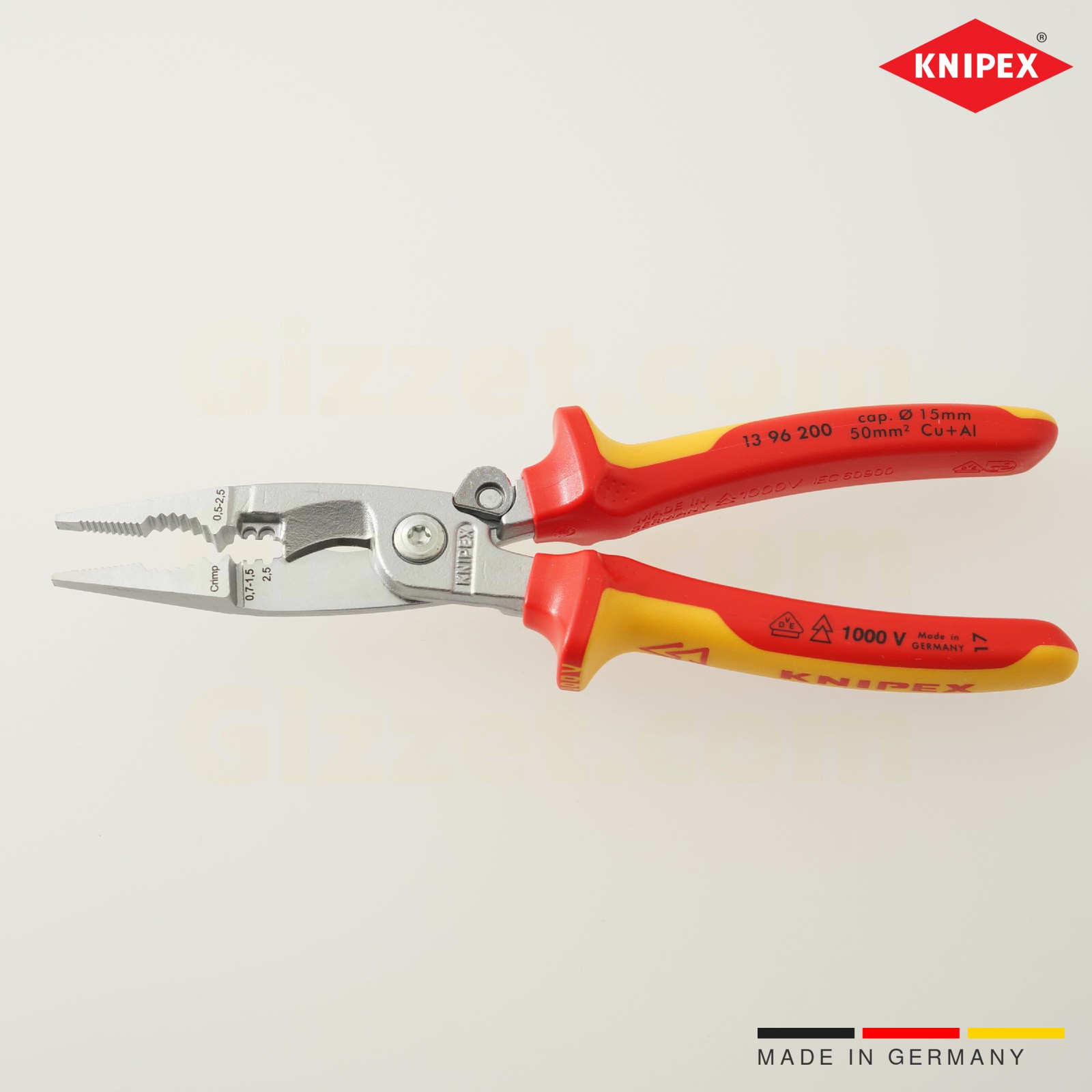 Knipex multi-functional electrical pliers