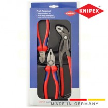 thumbnail Knipex pliers set of combination diagonal and Cobra pliers