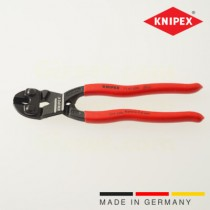 Knipex CoBolt pliers 20° head angle, cutting edge recess