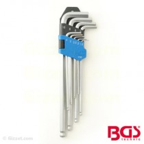 BGS Allen L-key internal hexagon key set