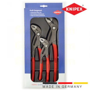 thumbnail Knipex pliers set of three Cobra water pump pliers